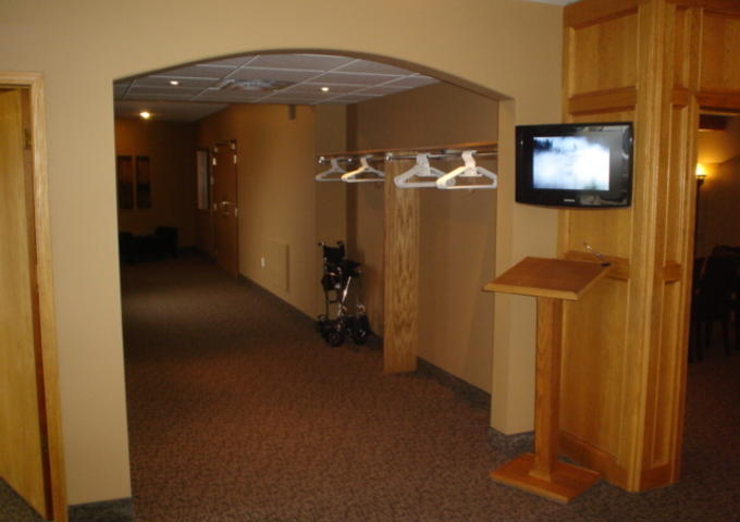 Our Main Entrance Area